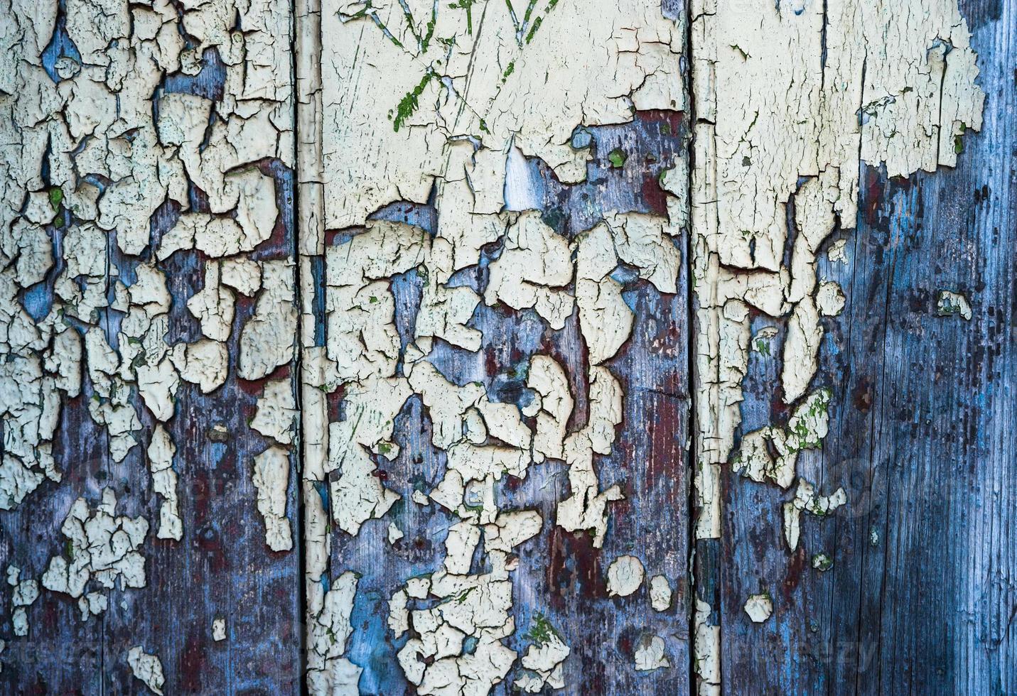 oude gebarsten verf textuur achtergrond foto