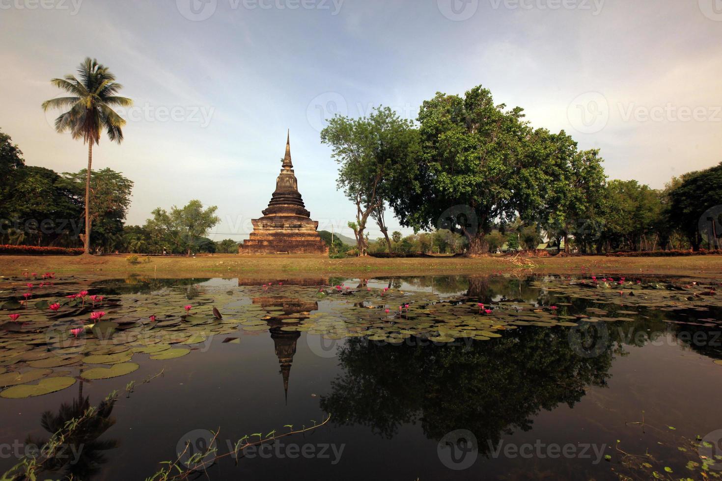 sukhothai reisen van thailand foto