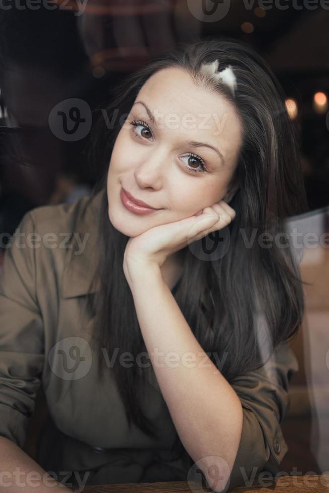 mooi vrouwenportret foto