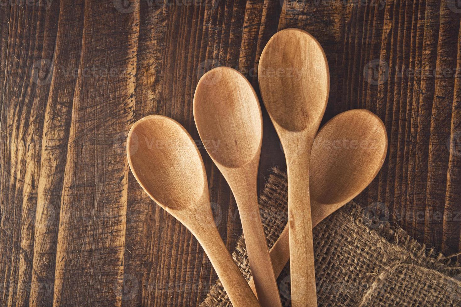 houten lepels foto