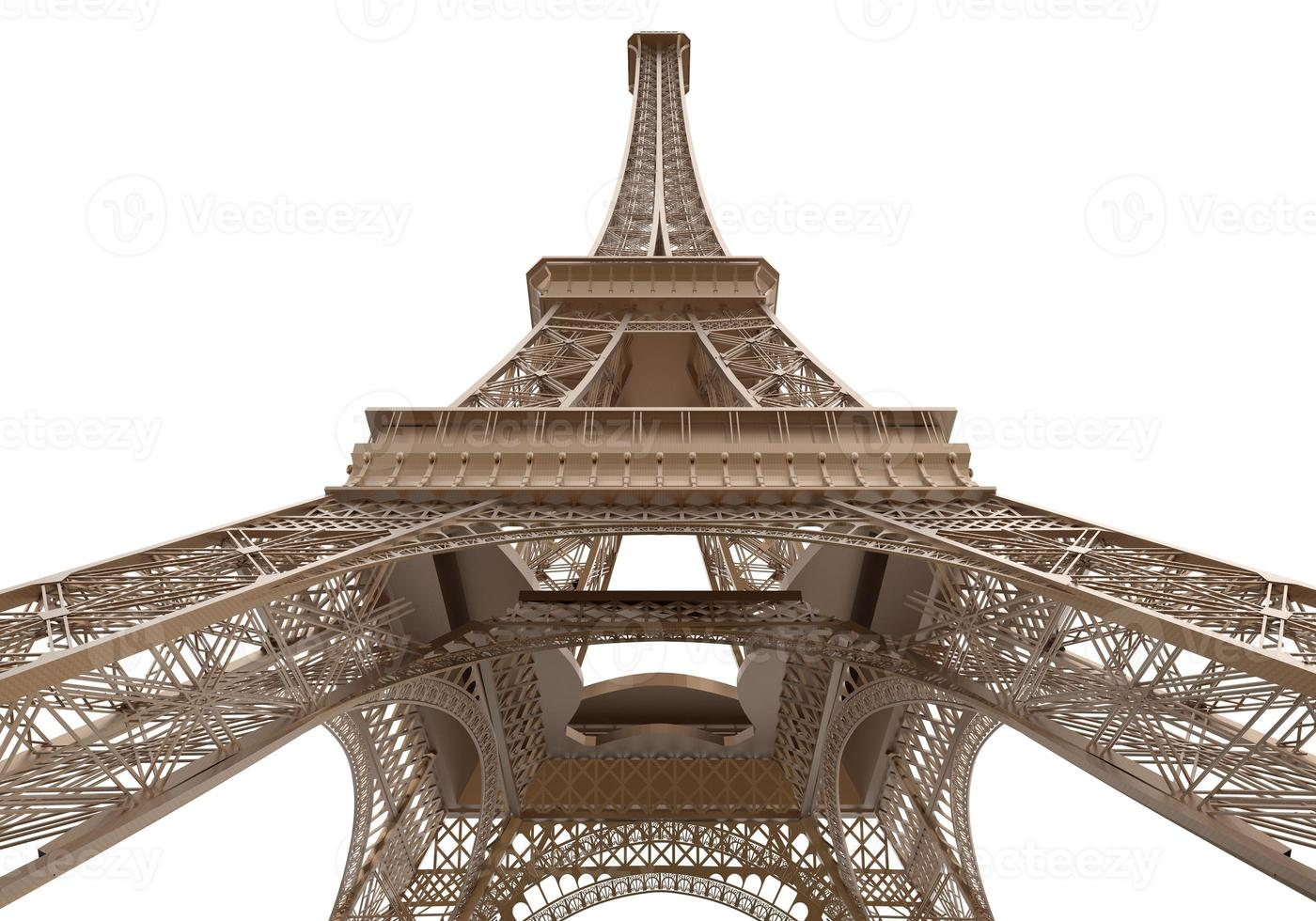 Eiffeltoren geïsoleerd foto