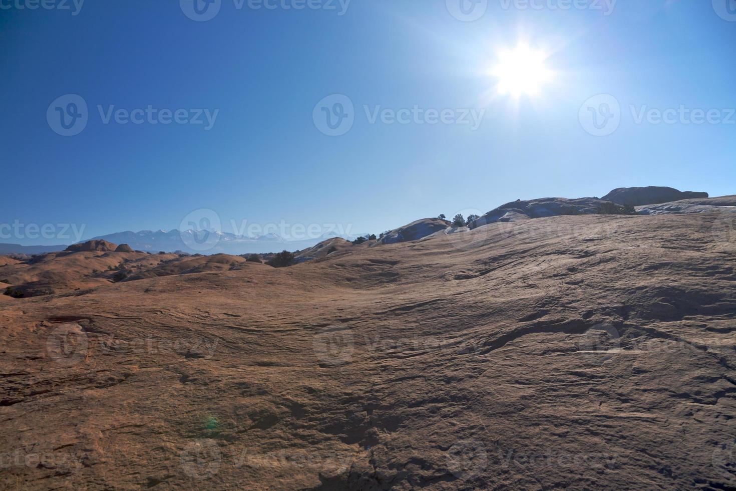 moab woestijn foto