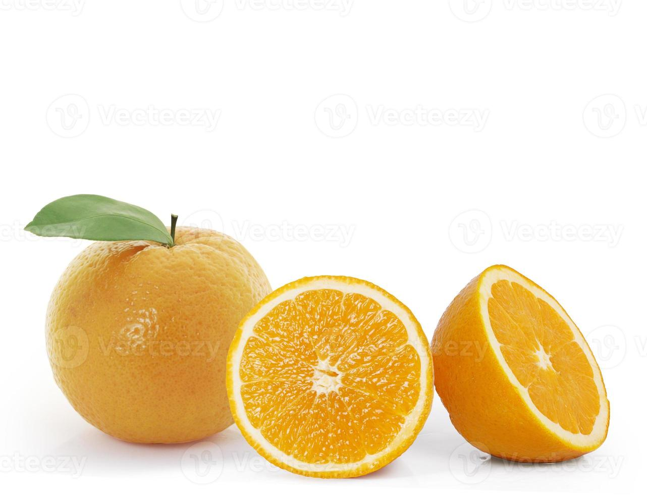 oranje schijfje foto