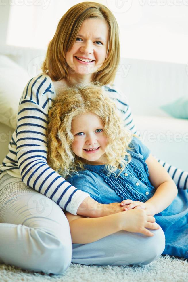moeder en dochter foto