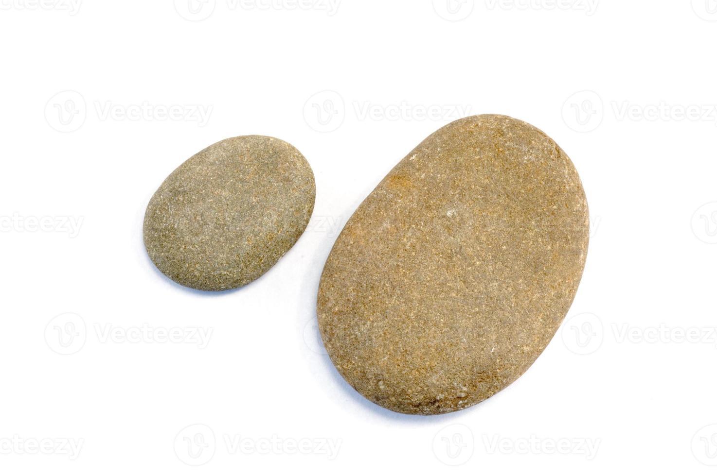 twee stenen foto