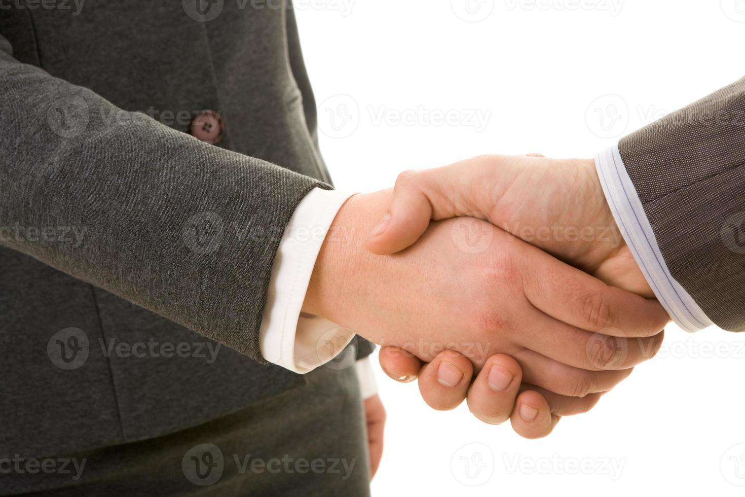 een deal sluiten foto