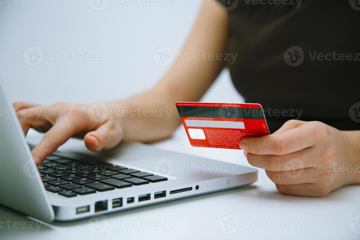 online betalen met creditcard foto