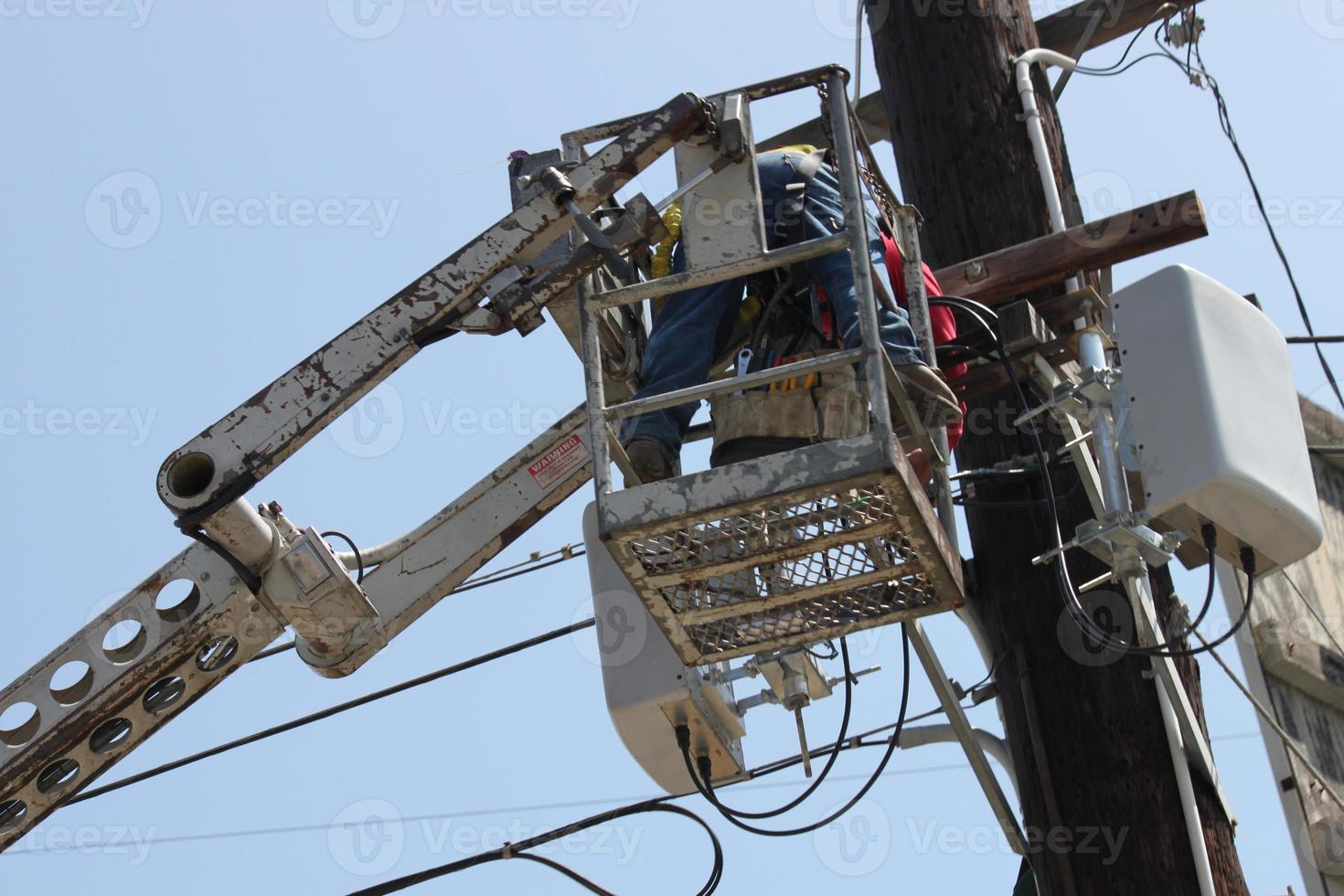 elektricien reparateur foto