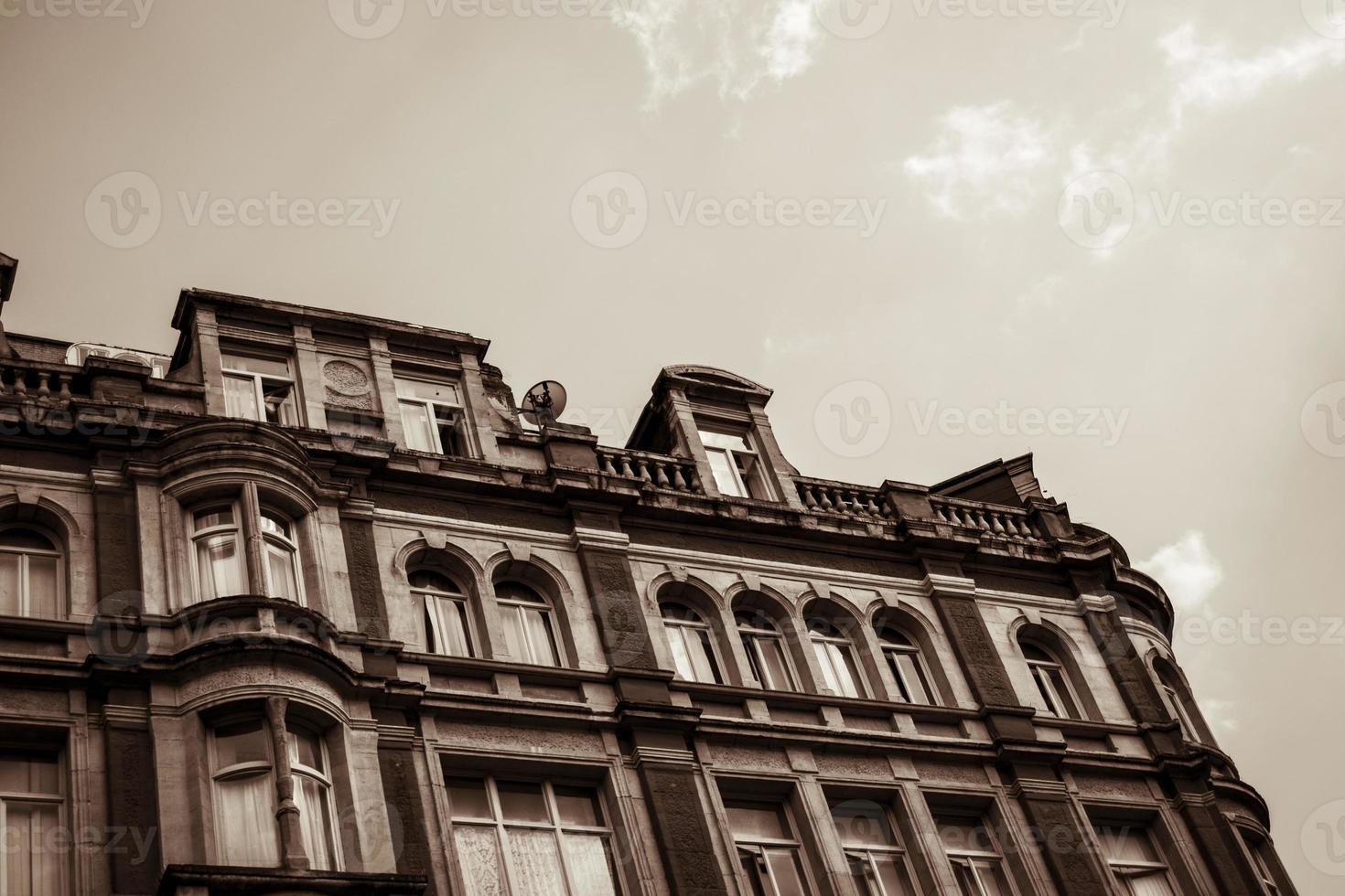 Victoriaans kantoorgebouw foto