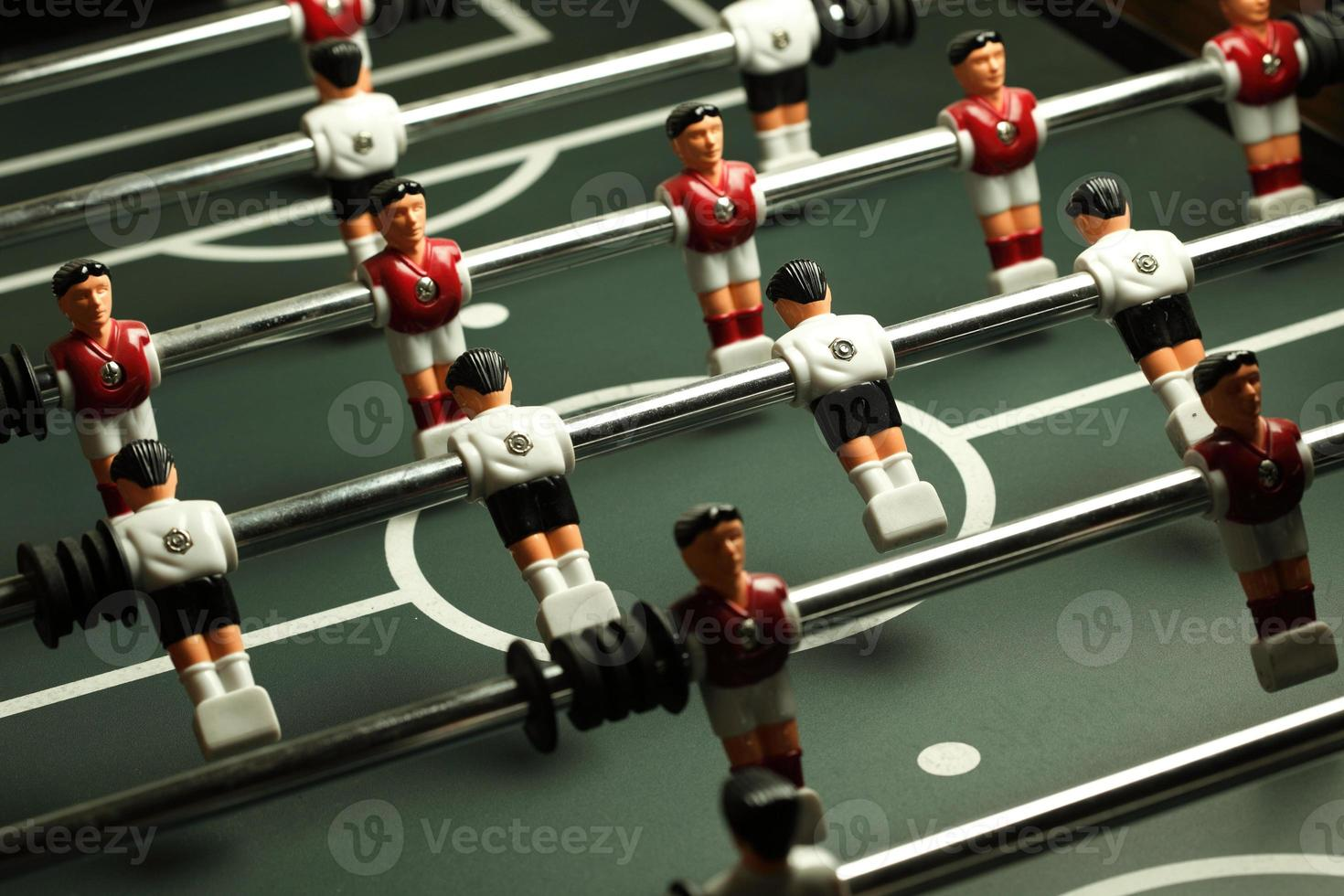 voetbal tafelspel foto