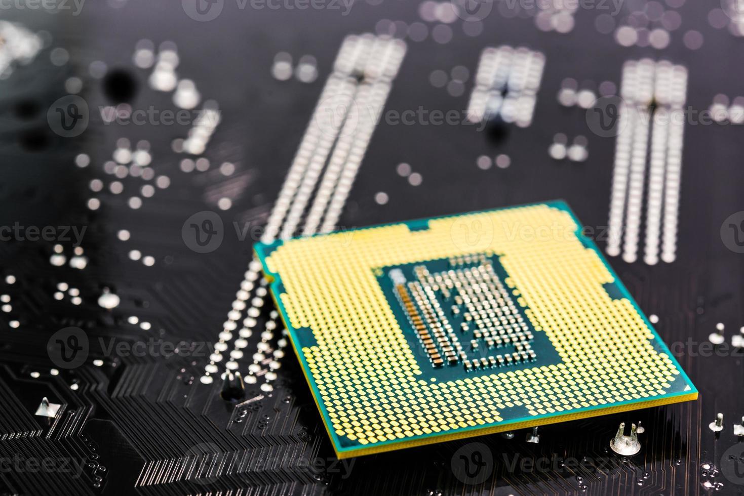 computer belangrijkste deel close-up foto