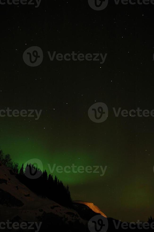 aurora borealis (noorderlicht) foto