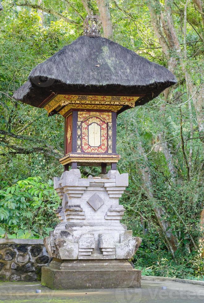 heiligdom bij gunung kawi tempel in bali foto
