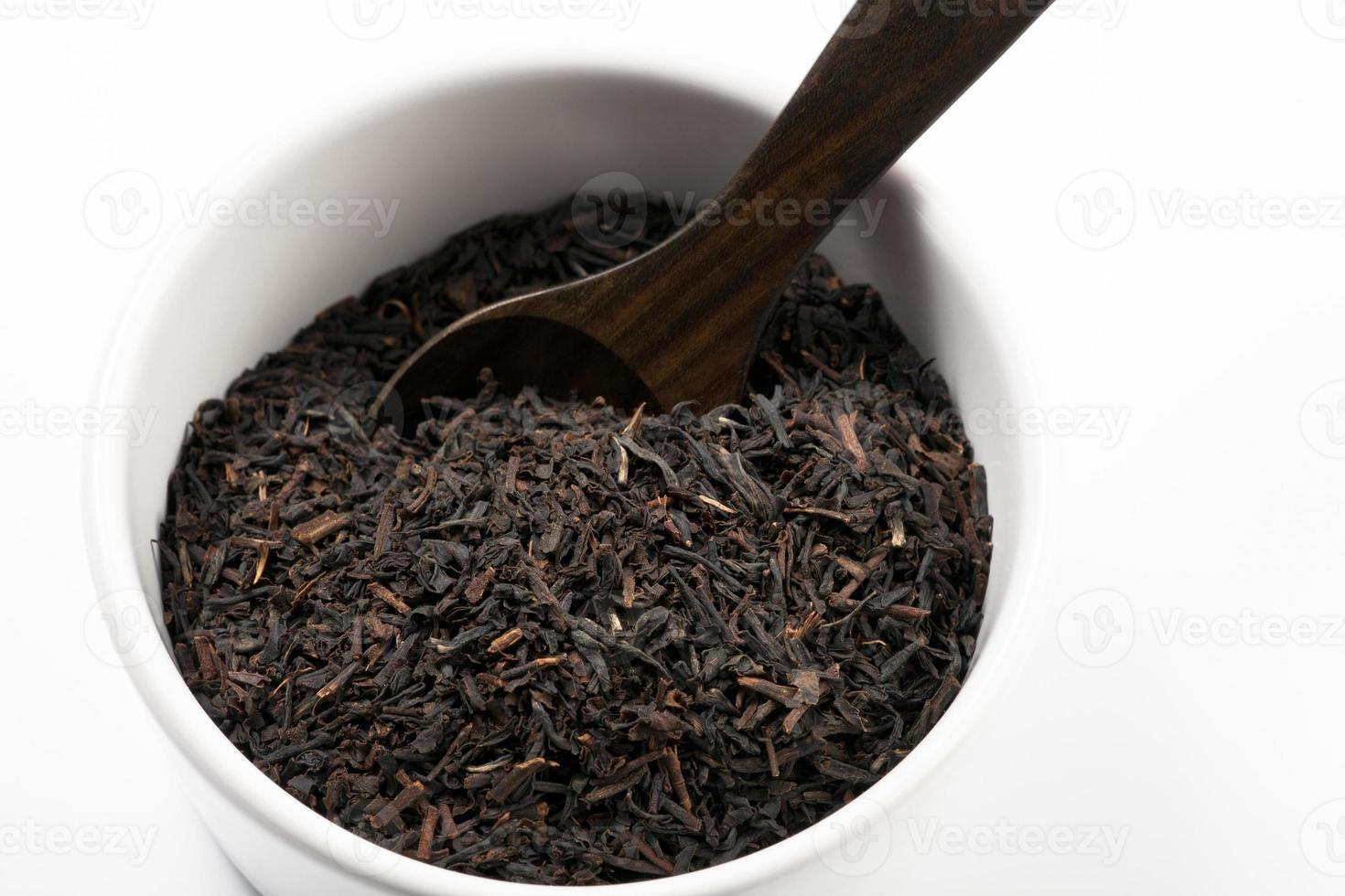 zwarte thee foto