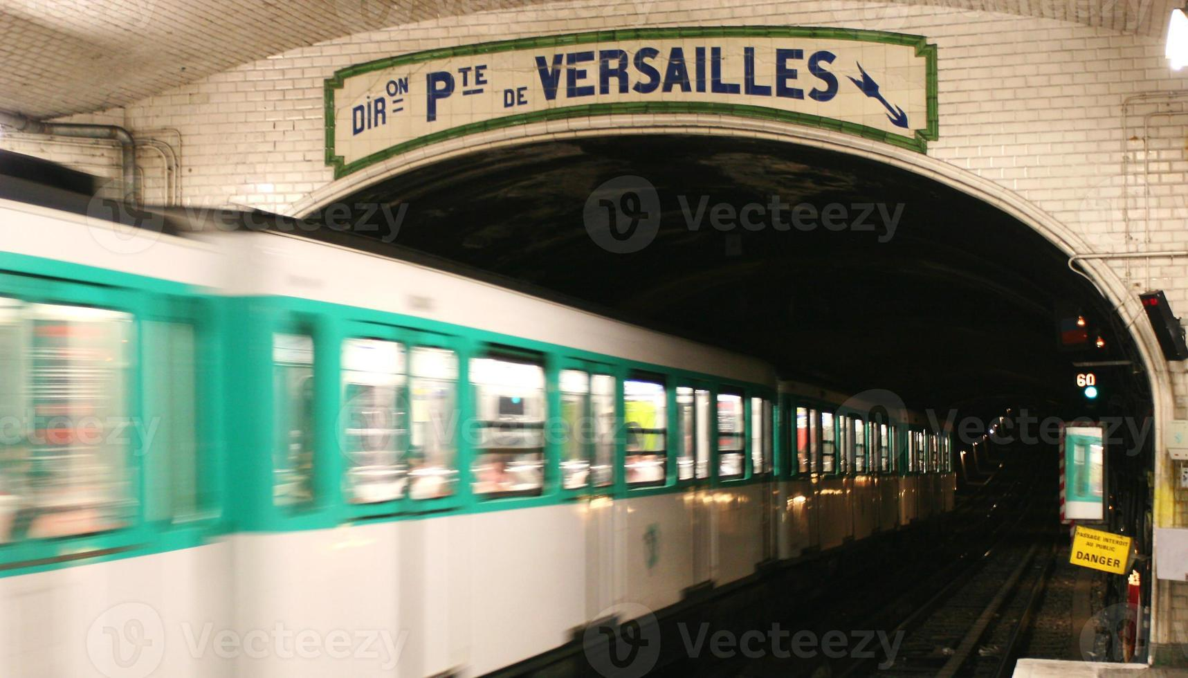 metro van Parijs foto