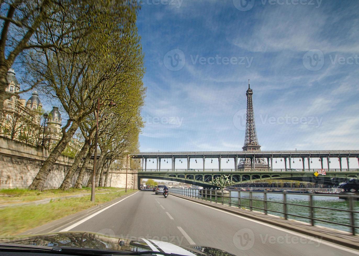 parijs rijden foto