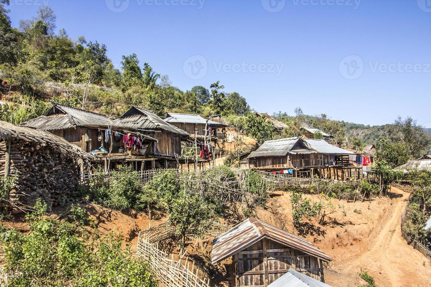 een dorp foto
