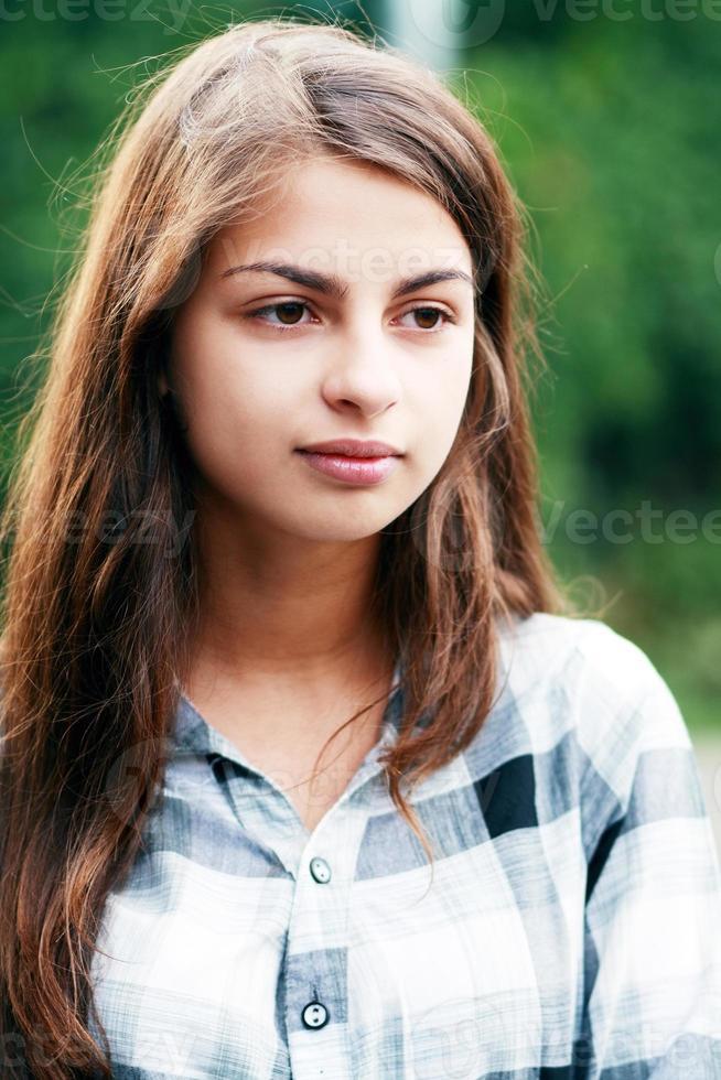 mooi tienermeisje foto