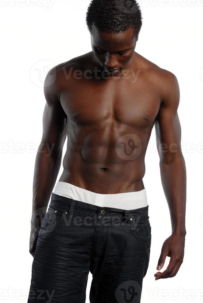 jonge Afro-Amerikaanse man foto