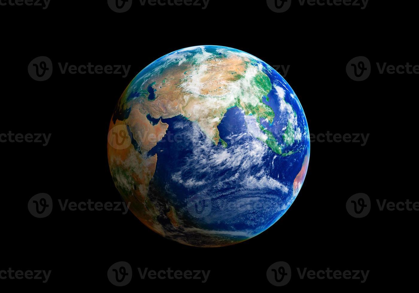 aarde wereld foto