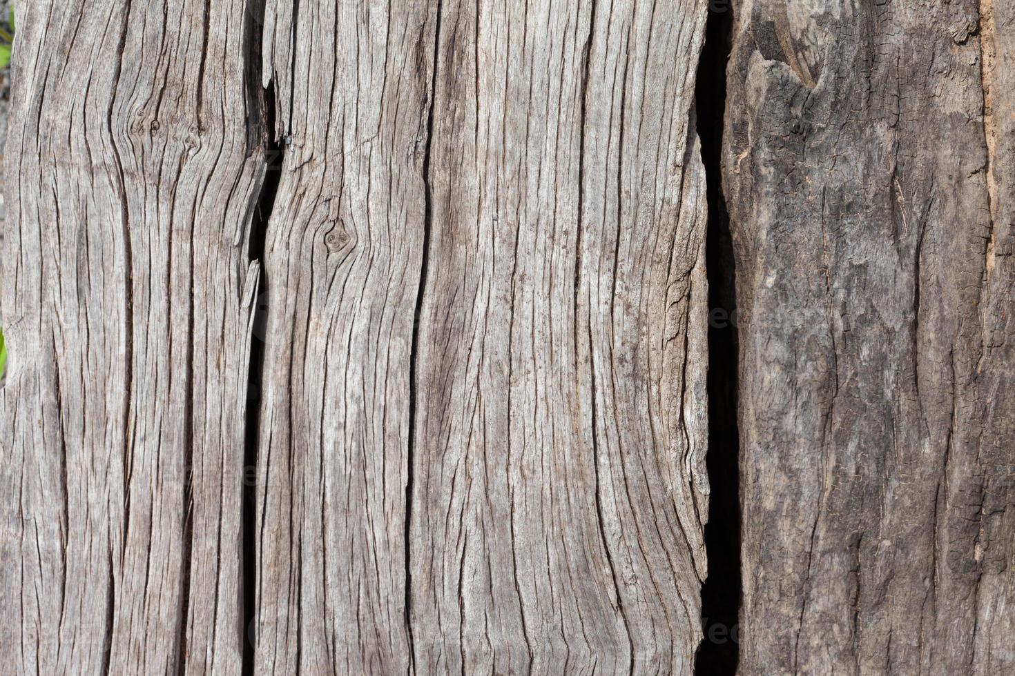 oud, grunge houten panelen die als achtergrond worden gebruikt foto
