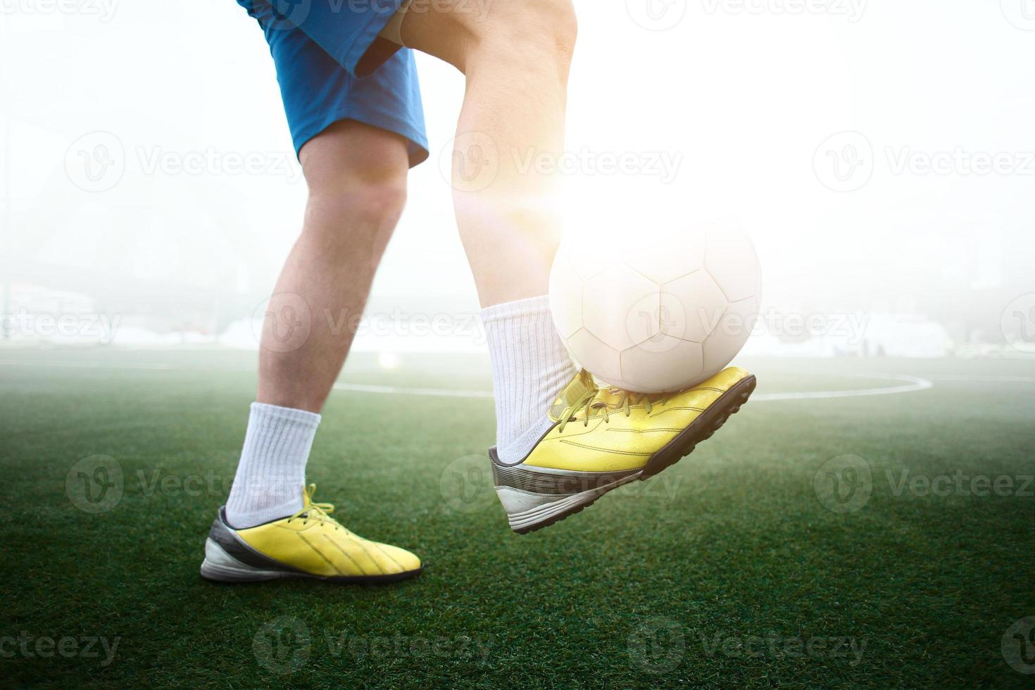 voetballer foto