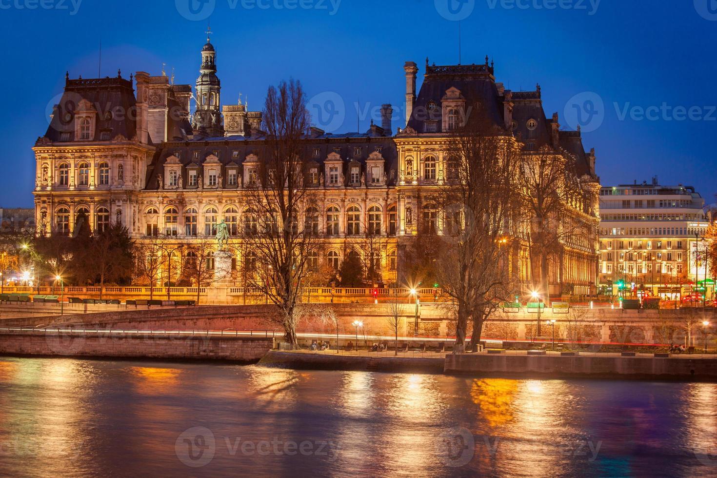 hotel de ville, parijs foto
