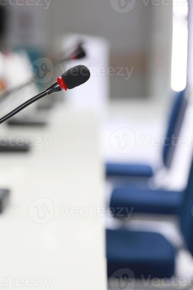 microfoon delegeren foto