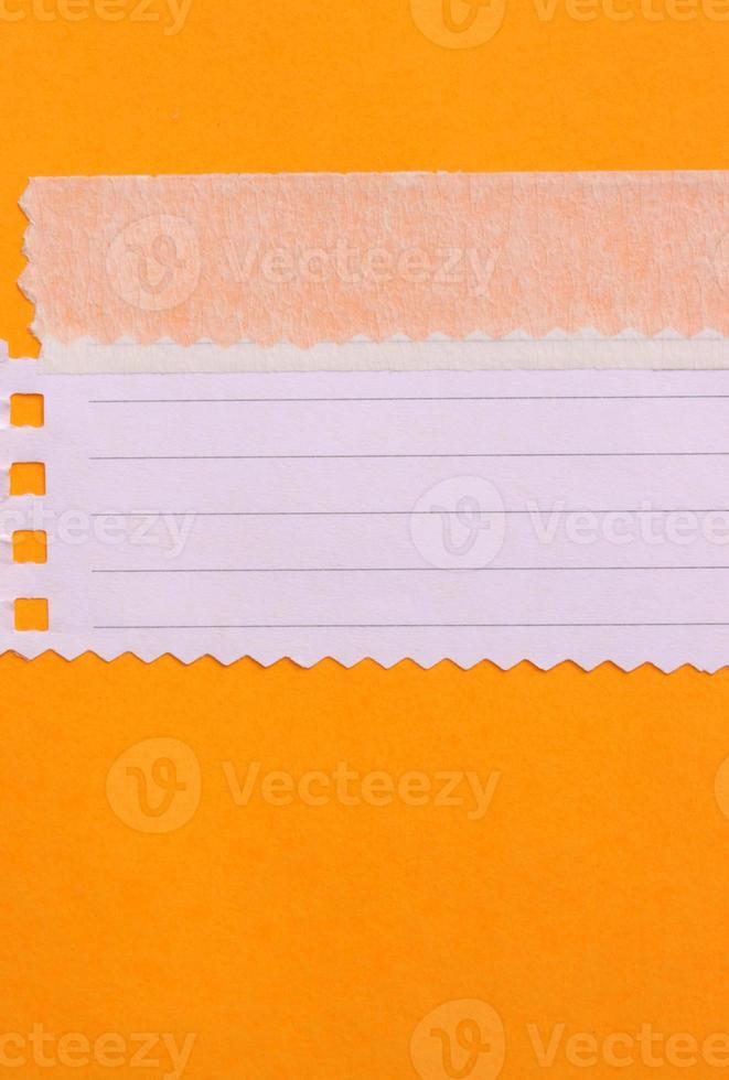 Notitie papier foto