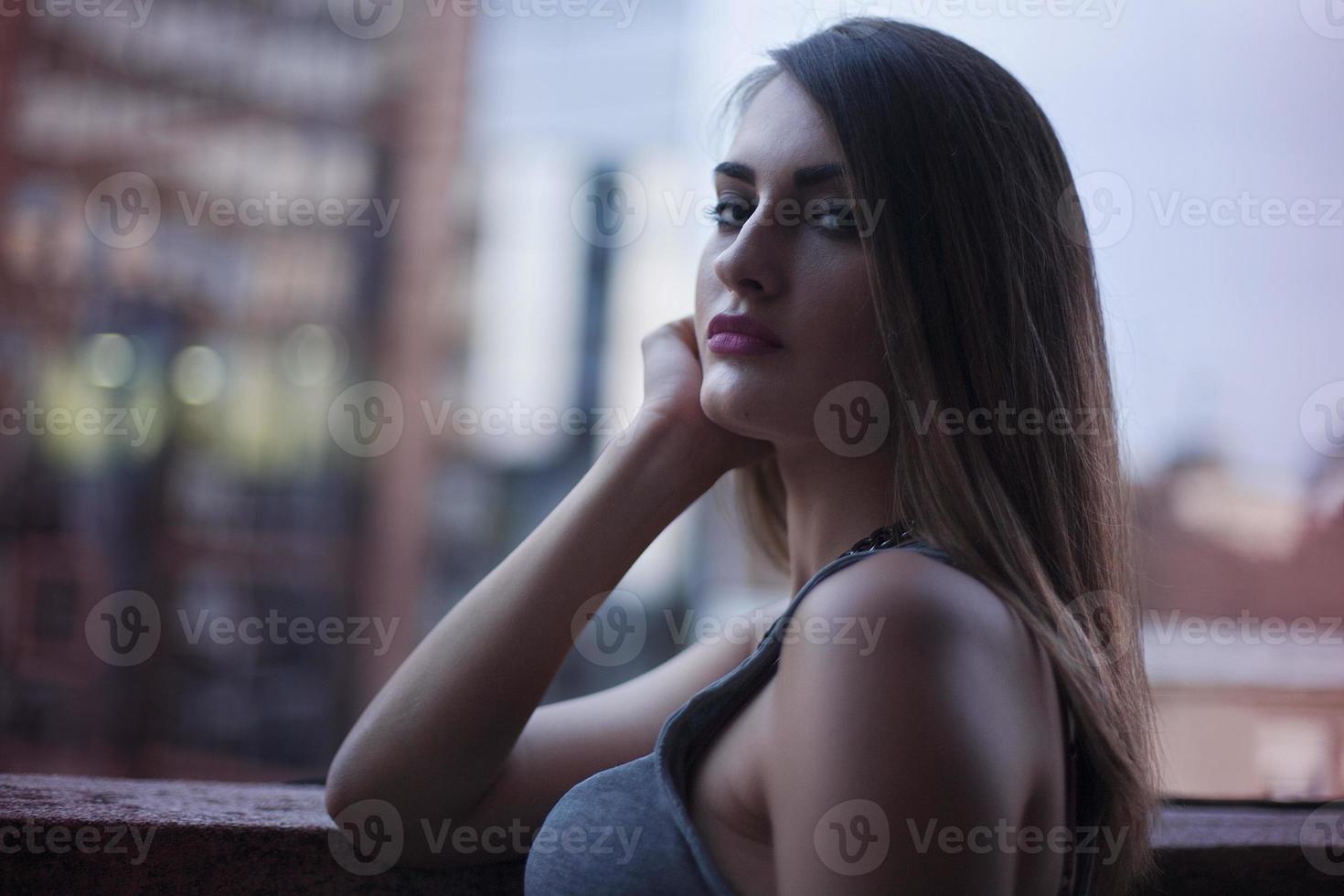 portret van jonge vrouwen foto