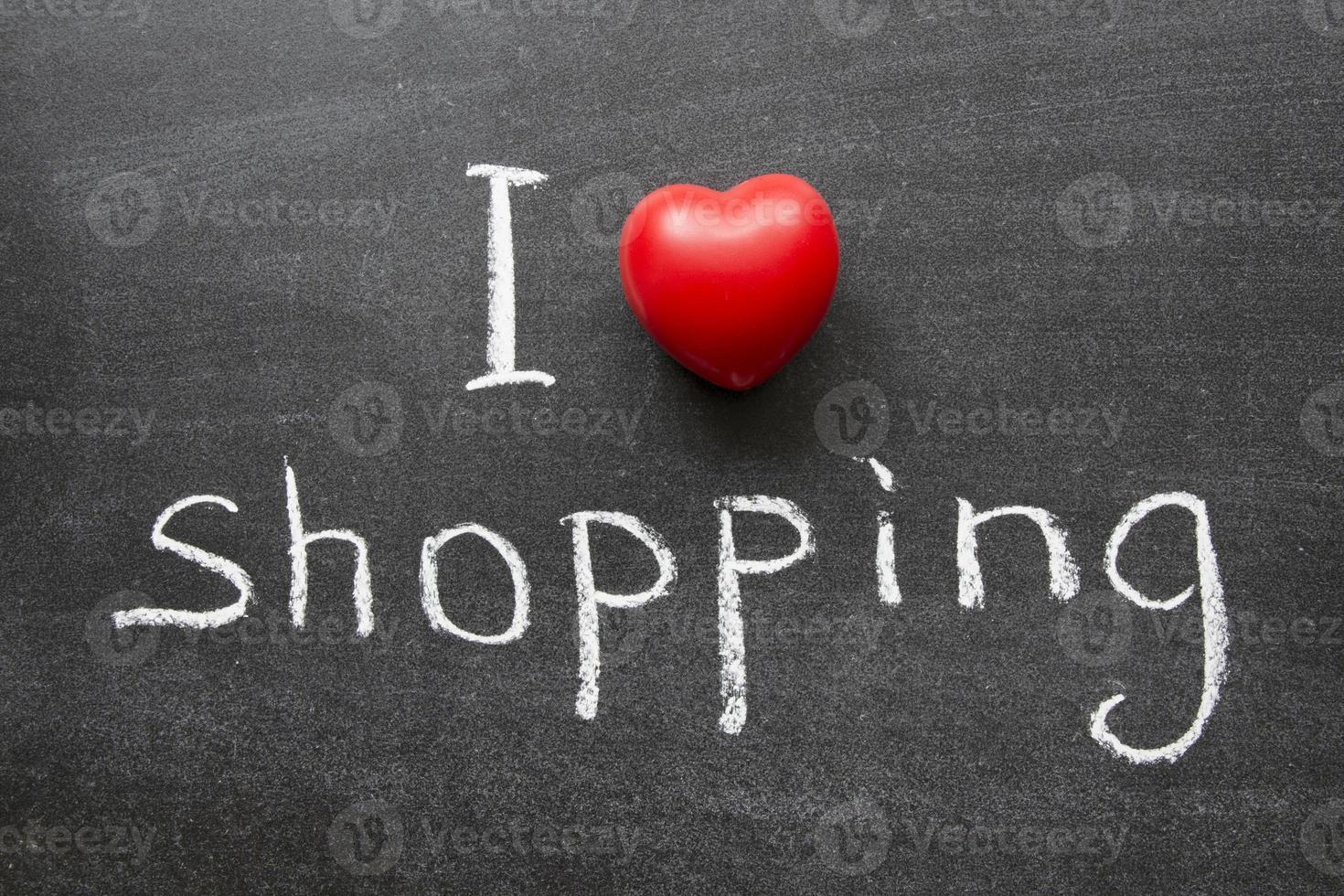 hou van winkelen foto