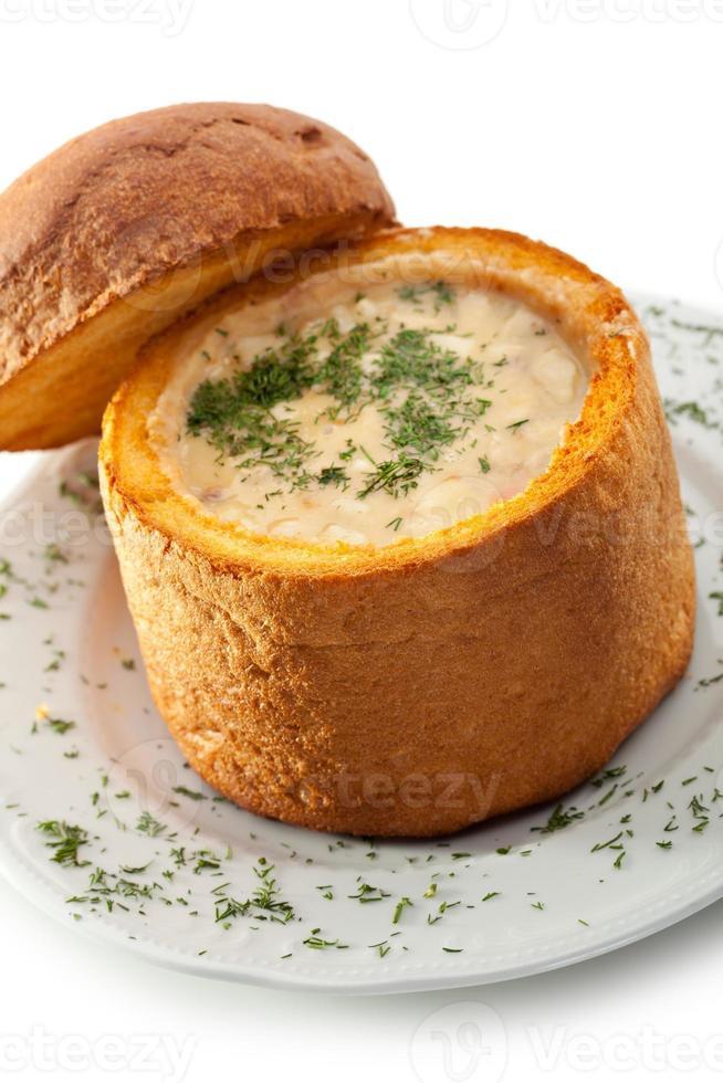 hete soep foto