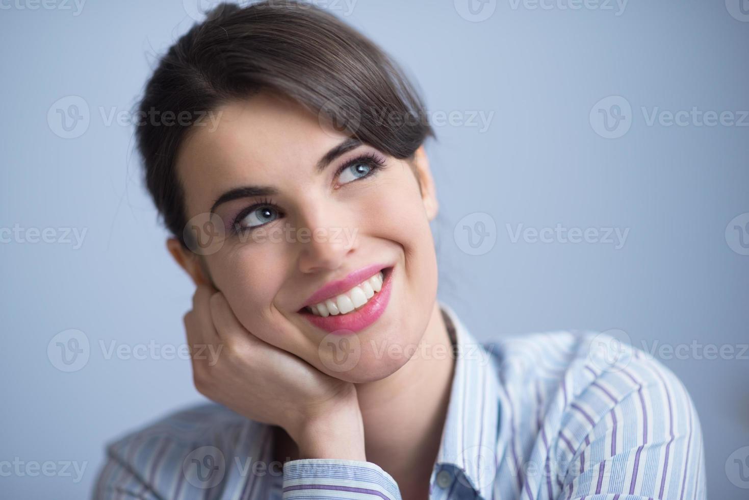 mooie glimlach foto