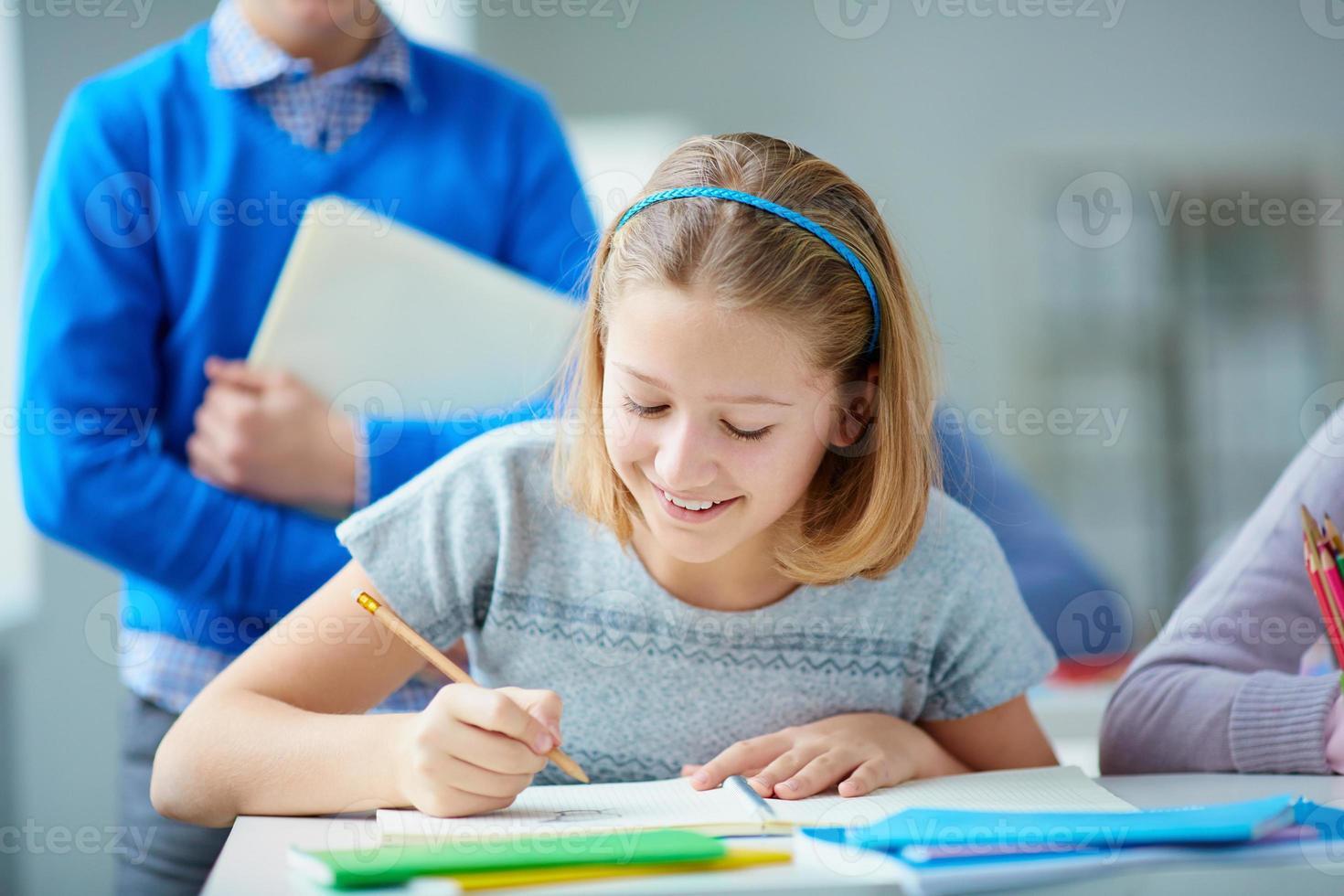 meisje tekenen foto