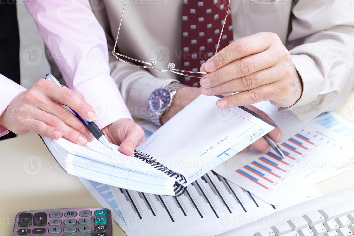 businessmans op kantoor foto