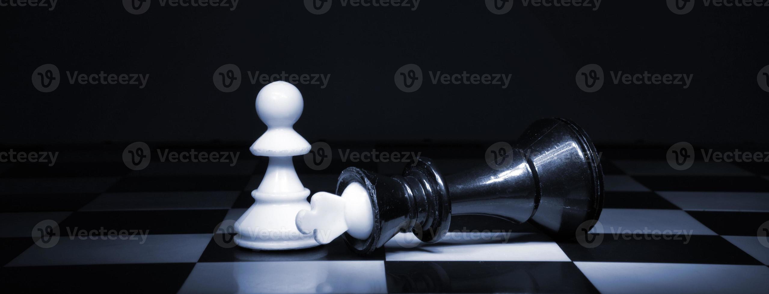 het schaken foto