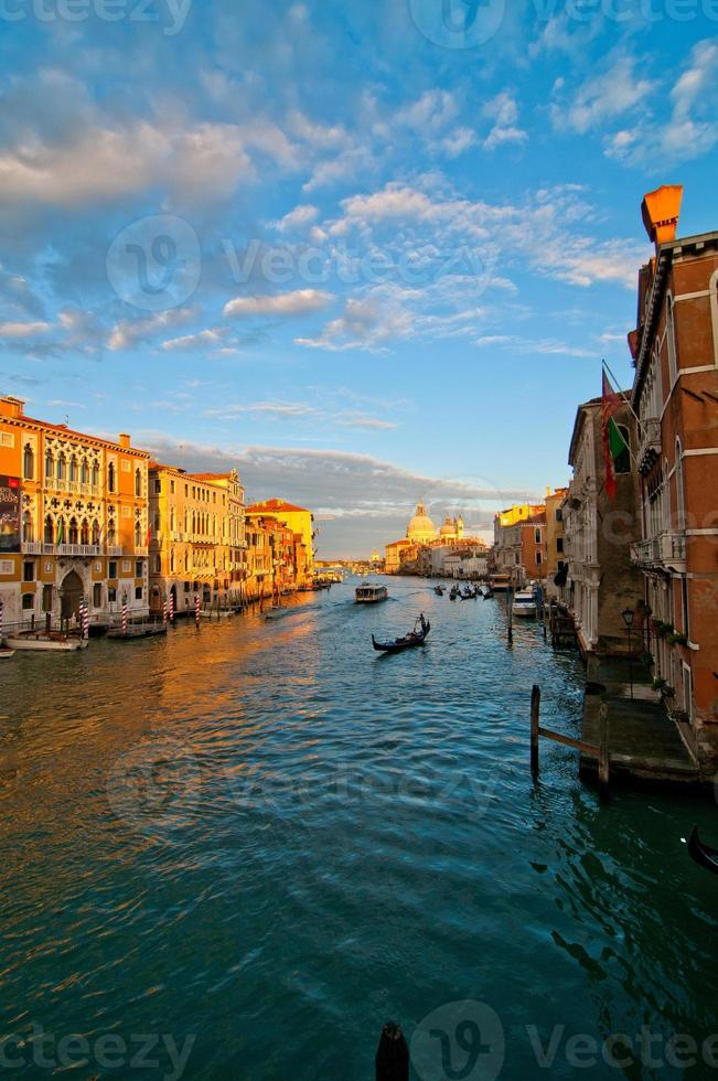 Venetië Italië Grand Canal View foto