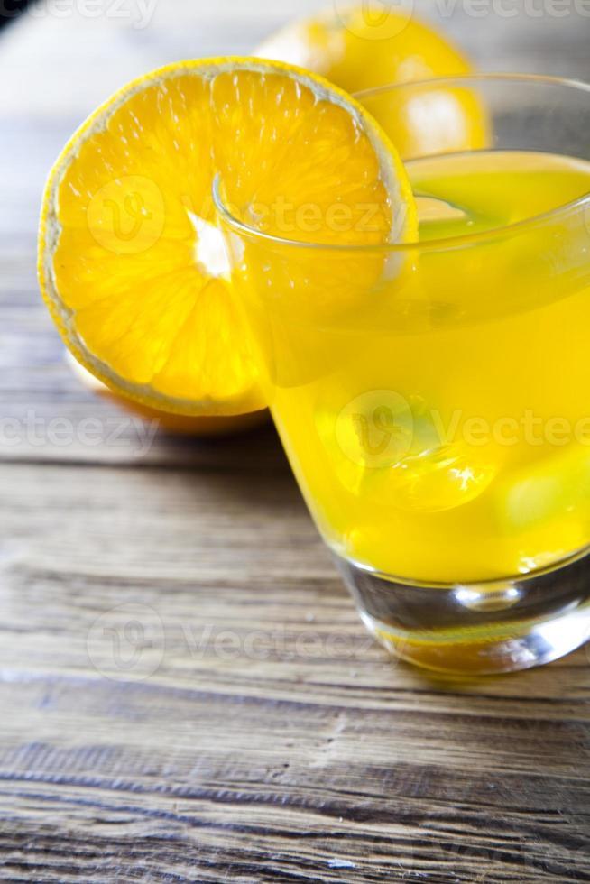 oranje cocktaildrank foto