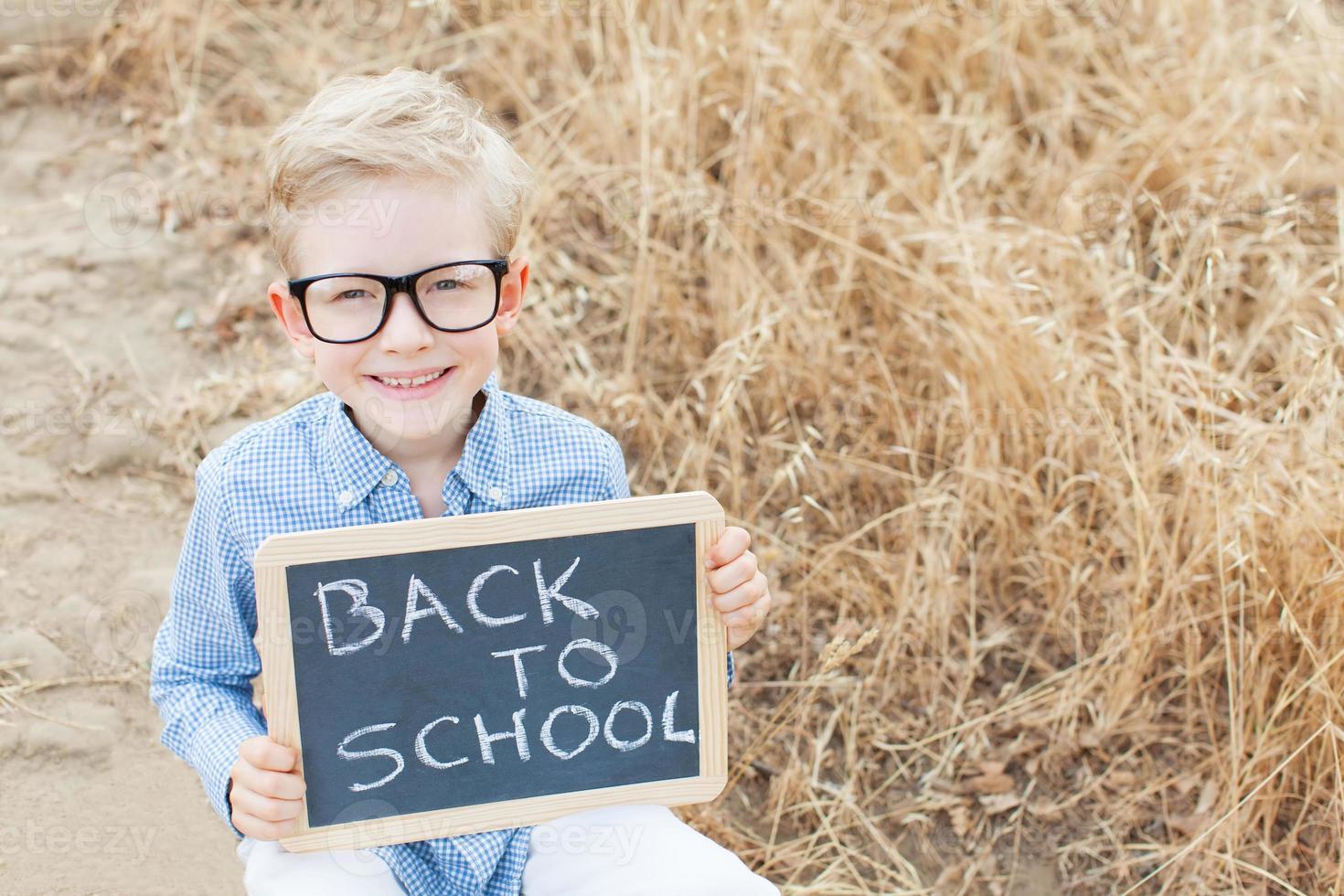 terug naar school foto
