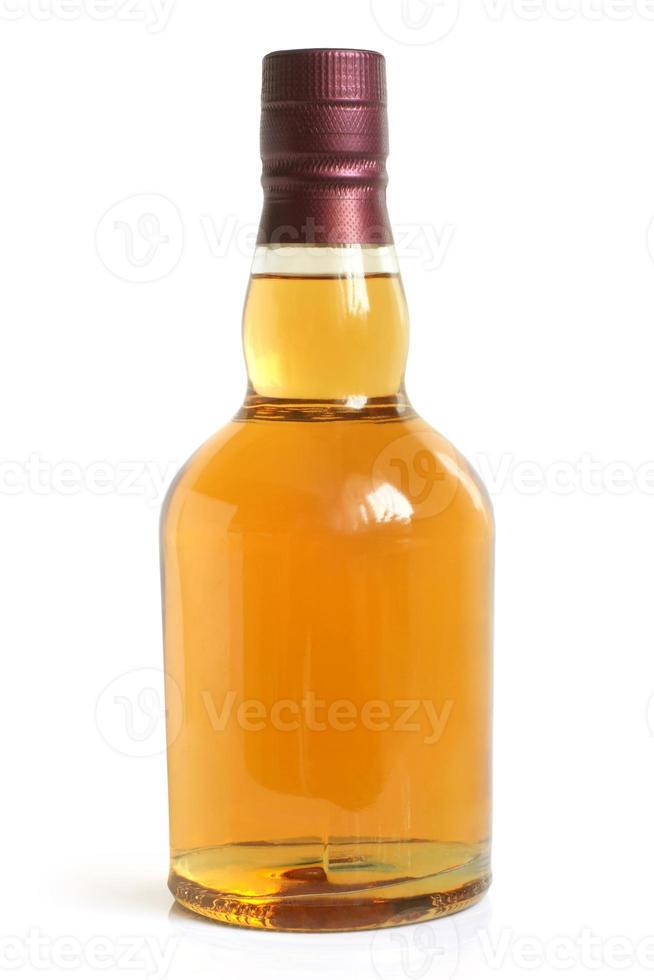 fles alcoholische drank foto