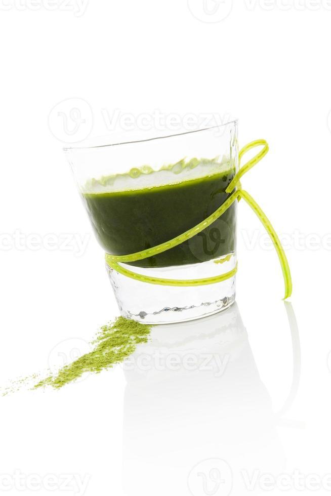 groen drankje. foto