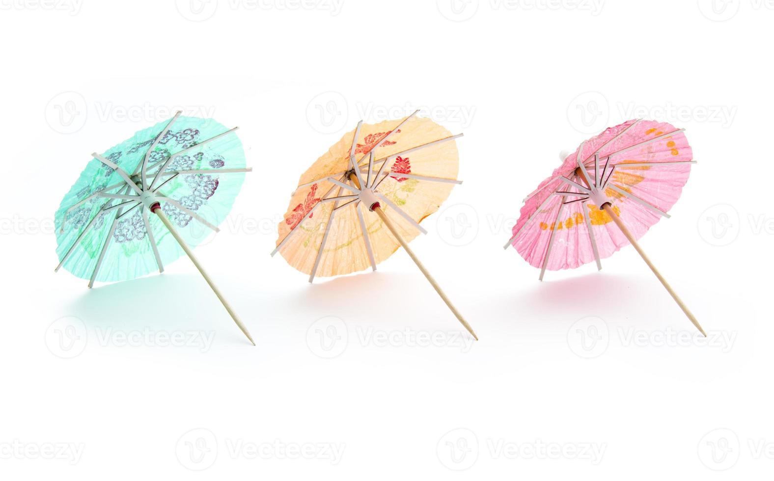 paraplu's drinken foto