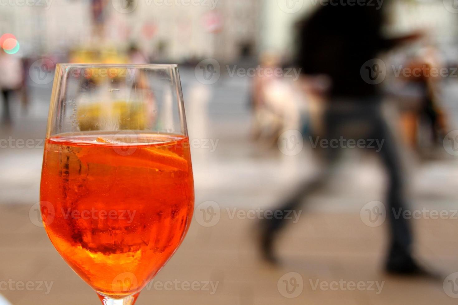 een drankje doen foto