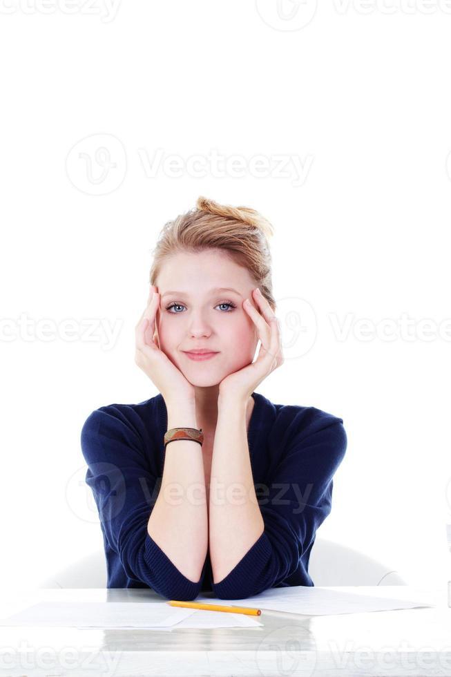 jonge student foto
