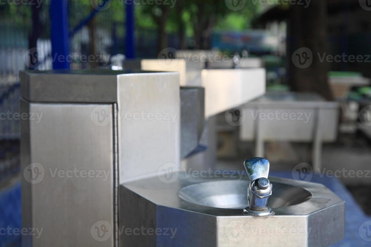 waterfontein om te drinken foto