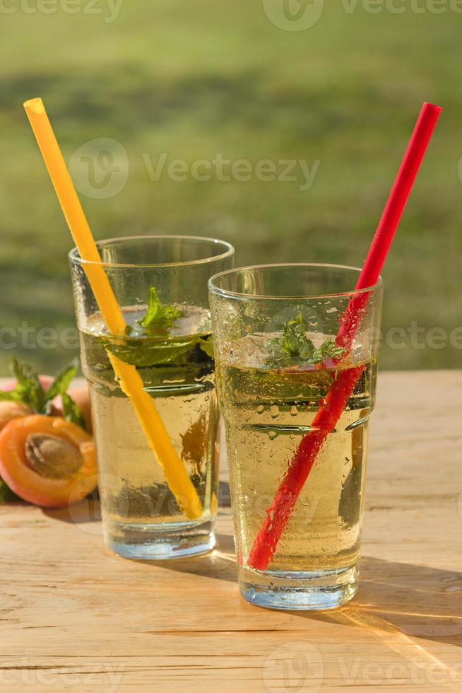 gezonde koude drank foto