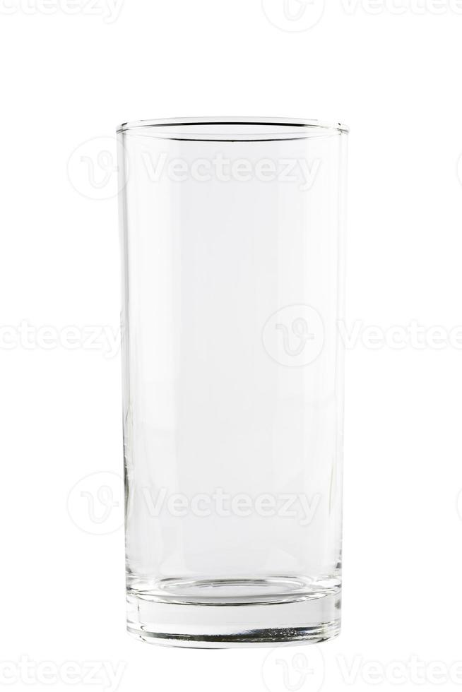 leeg drink longdrinkglas foto