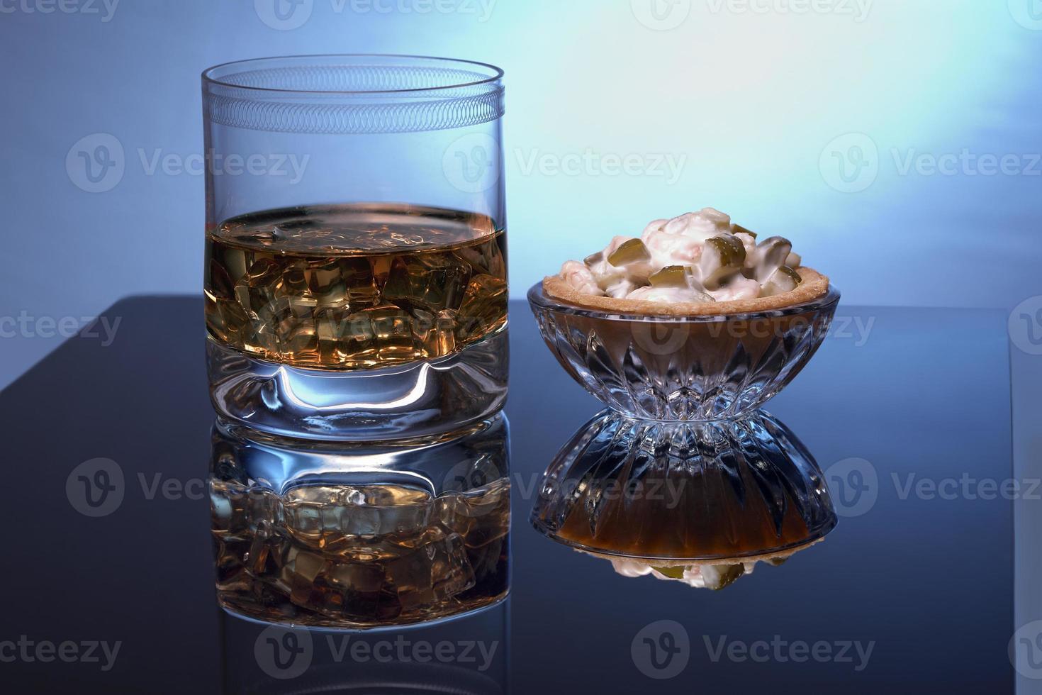 drinken en eten -taartjes foto