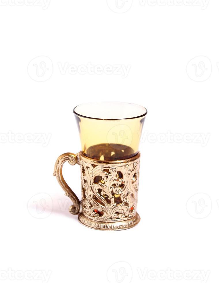beker voor alcoholische dranken foto