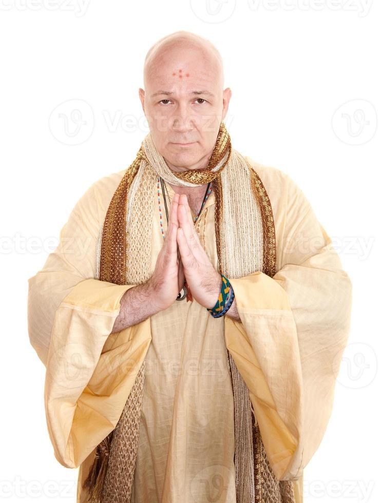biddende heilige man foto
